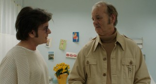 Business manager Saul (Bill Murray) voices his own problems to a hospitalized Charles Swan III (Charlie Sheen).