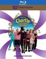 Charlie and the Chocolate Factory: 10th Anniversary Blu-ray Disc cover art -- click to buy from Amazon.com