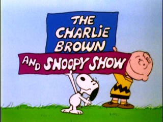 The more creative second season allows Charlie Brown and Snoopy to hold the show's title logo.