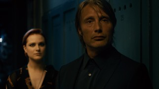 Gabi's tough (ex?)-husband (Mads Mikkelsen) does not take kindly to Charlie.