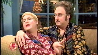 Appearances by married news team Jan (Tim Heidecker) and Wayne Skylar (Eric Wareheim) reveal that Tim and Eric serve this show better as writers, producers, and directors than actors.