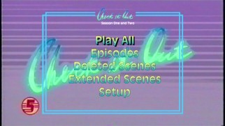 "As it would have to, the DVD's main menu loops the ""Check It Out"" theme music and clips."