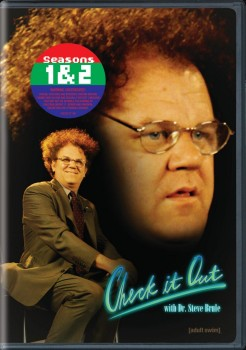Check It Out with Dr. Steve Brule Seasons 1 & 2 DVD cover art - click to buy from Amazon.com