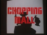"The ""Chopping Mall"" trailer presents an unsettling silhouette not seen in the actual film."