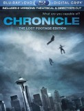Chronicle: DVD + Blu-ray + Digital Copy combo pack cover art -- click to buy from Amazon.com