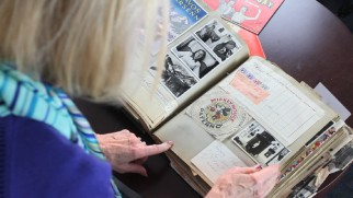 Betty Marsh York takes us through her production scrapbook that was recently acquired via eBay.