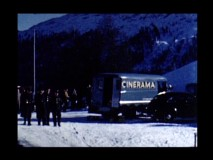 Bob Bendick's home movies show the Cinerama truck parked in Switzerland.