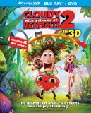 Cloudy with a Chance of Meatballs 2: Blu-ray 3D + Blu-ray + DVD + Digital HD UltraViolet combo pack cover art -- click to buy from Amazon.com