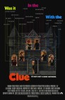 Clue (1985) movie poster