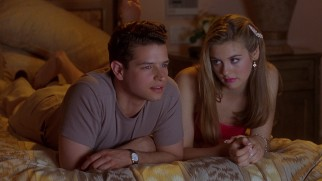 "Christian (Justin Walker) seems more interested in ""Sparaticus"" than in Cher (Alicia Silverstone)."