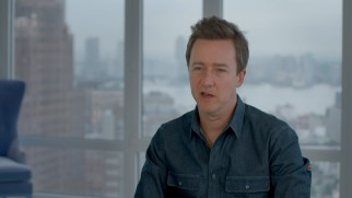 "Edward Norton discusses the movie in ""A Modern Fable."""