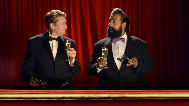 "When they're not working together on ""Comedy Bang! Bang!"", Scott Aukerman and Reggie Watts are catching the opera with champagne flumes in one hand and theater binoculars in the other."