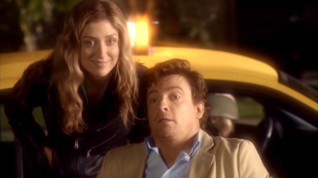 "In ""Coming & Going"", able-bodied obstetrician Lee Leonetti (Rhys Darby) uses a wheelchair so as not to endanger his relationship with socially conscious lawyer Alex Michaels (Sasha Alexander)."
