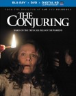 The Conjuring: Blu-ray + DVD + UltraViolet cover art -- click to read the press release