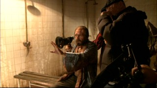 "When actors direct a movie they're in, we get priceless shots like this look at Ralph Fiennes in ""The Making of 'Coriolanus'."""