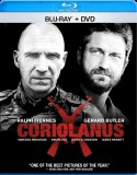 Coriolanus: Blu-ray + DVD combo pack cover art -- click to buy from Amazon.com