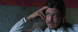 Middleman Westray (Brad Pitt) strikes a cautionary tone in talking to The Counselor.