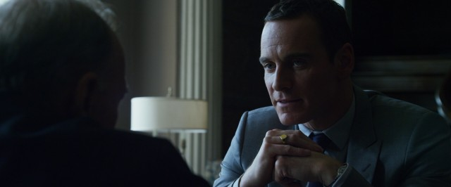 "The extended cut of ""The Counselor"" gives us an elongated version of the protagonist's (Michael Fassbender) diamond grading chat."