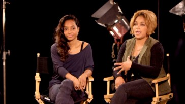 "Surviving group members Chilli and T-Boz discuss having their life turned into a (VH1) movie in ""The TLC Story."""