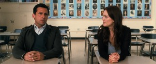 Their first post-separation parent-teacher conference is highly awkward for Cal (Steve Carell) and Emily (Julianne Moore).