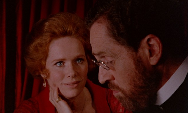 The charms of Maria (Liv Ullmann) over Doctor David (Erland Josephson) have grown weak with time.