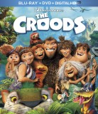 The Croods: Blu-ray + DVD + Digital HD UltraViolet combo pack cover art -- click to buy from Amazon.com