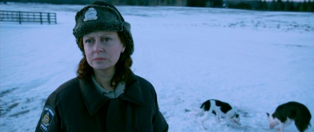 "In ""The Calling"", Canadian police detective Hazel Micallef (Susan Sarandon) finds a murder victim's extracted stomach attracting dogs in the middle of a snowy field."