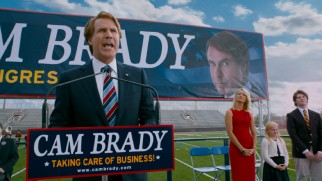At the film's opening, Cam Brady (Will Ferrell) expects nothing to stand in the way of a fifth term in Congress.