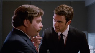 The billionaire Motch brothers assign Tim Wattley (Dylan McDermott) to give Marty (Zach Galifianakis) a quick and thorough image makeover.