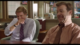 "Will Ferrell and Jason Sudeikis crack up in ""The Campaign"" gag reel."