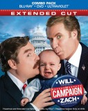 The Campaign: Extended Cut Blu-ray + DVD + UltraViolet combo pack cover art -- click to buy from Amazon.com