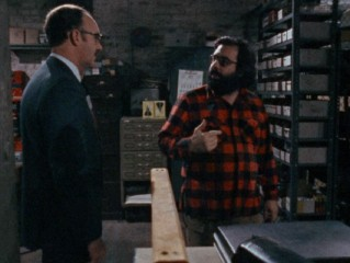 "Francis Ford Coppola directs Gene Hackman in ""Close-Up on 'The Conversation.'"""