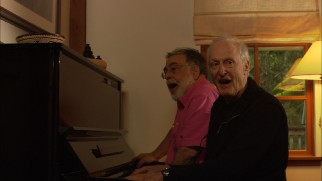 Francis Ford Coppola joins David Shire for a piano duet.