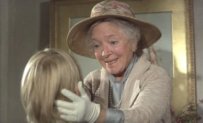 "Helen Hayes plays Lady St. Edmund in ""Candleshoe"", her third Disney film."