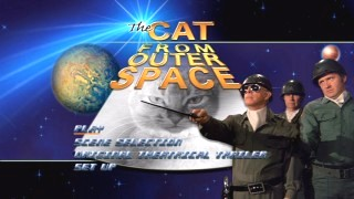 The Cat From Outer Space's Main Menu.