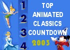 Top 20 Animated Classics Countdown Results
