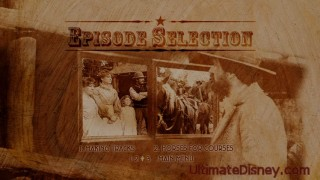 Episode Selection Menu on Disc 1