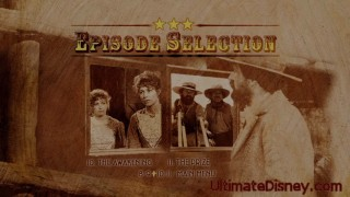 Episode Selection Menu on Disc 3