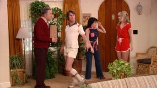 "Paul imagines a ""Three's Company"" world, which shouldn't be too much of a stretch for John Ritter!"