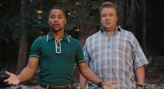 The poor man's Eddie Murphy (Cuba Gooding, Jr.) and the broke man's John Goodman (Paul Rae) are surprised to see enrollment in their Daddy Day Camp has dropped to nine.