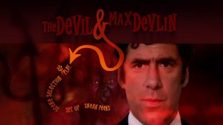 "The hellish main menu for ""The Devil and Max Devlin."""