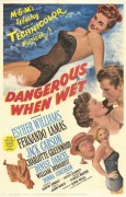 Dangerous When Wet (1953) movie poster