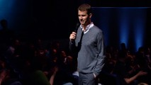 Daniel Tosh ventures into the crowd as part of his Encore.