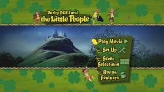 Darby O'Gill and the Little People DVD Menu