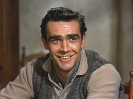 Sean Connery flashes his winning smile as Michael MacBride.