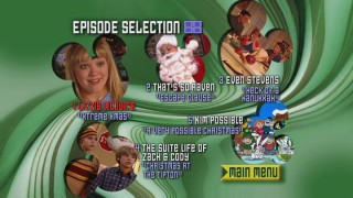 A look at the non-animated Episode Selection menu.