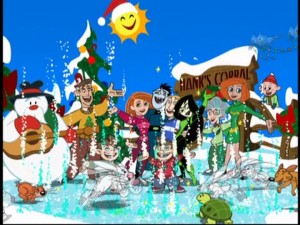 "The cast of ""Kim Possible"" really gets in the holiday special spirit."
