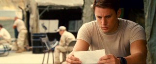While stationed at an undisclosed location, John (Channing Tatum) receives a crushing letter from Savannah, no doubt beginning with the titular phrase.
