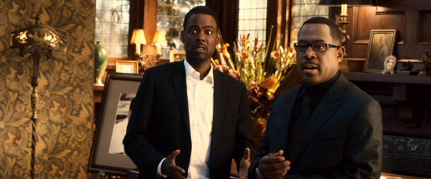 "In 2010's ""Death at a Funeral"", Chris Rock and Martin Lawrence star as brothers Aaron and Ryan Barnes, who are close in age but at different stages of their writerly ambitions."