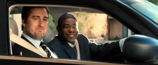 Family friends Derek (Luke Wilson) and Norman (Tracy Morgan) arrive at Uncle Russell's nursing home with smiles he doesn't appreciate.